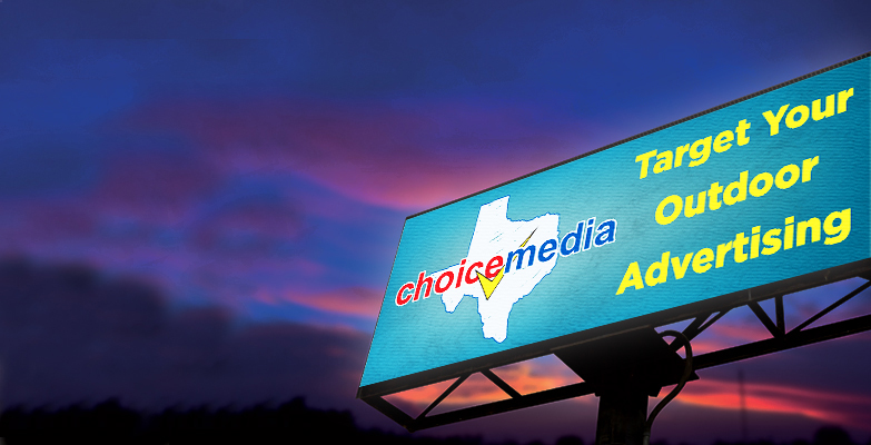 outdoor advertising with billboards